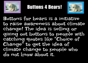 Buttons for Bears